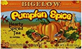 Bigelow Pumpkin Spice Tea, 20-Count (Pack of 6)