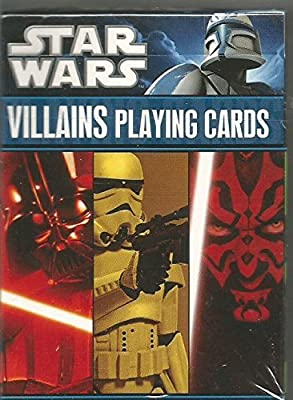 Star Wars Villains Playing Cards 52 Card Deck