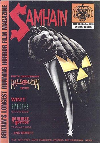 Samhain Magazine November/December 1995 (9th Anniversary Halloween -