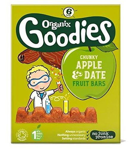 Organix Goodies Date & Apple Chunky Fruit Bars 6X17G (102G)