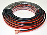 Voodoo 50 FT 12 True AWG spec Gauge zip wire red black stranded power ground