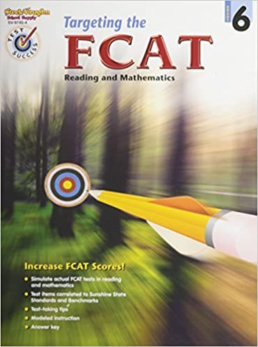 Book Targeting the FCAT: Reproducible Grade 6 by STECK-VAUGHN (2004-10-01)