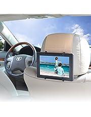 """WANPOOL Car Headrest Mount for Kindle Fire Tablet 7"""" / Fire HD 8 / Fire HD 10 / Kindle Fire HD 7"""" and Other Tablets, Beige"""