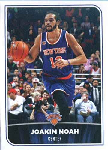 Joakim Noah Card (2017-18 Panini NBA Stickers #137 Joakim Noah New York Knicks Basketball Sticker)