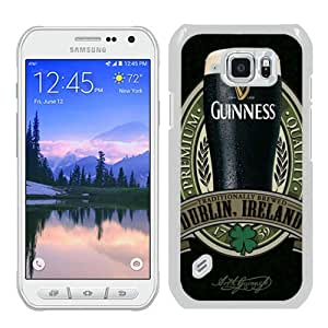 Personalized Custom Samsung Galaxy S6 Active Case,Guinness 4 White Samsung Galaxy S6 Active Phone Case