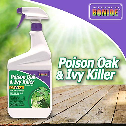 Bonide (BND506) - Poison Oak and Ivy Killer, Ready to Use Herbicide (32 oz.) (Best Way To Kill Blackberry Plants)