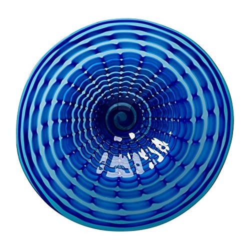 Image of Dinner Plates Cyan Design 04774 Aurora Plate, Medium