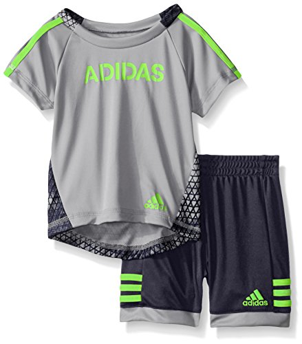 437b9c26441f Galleon - Adidas Baby Boys  Tee And Active Short Set