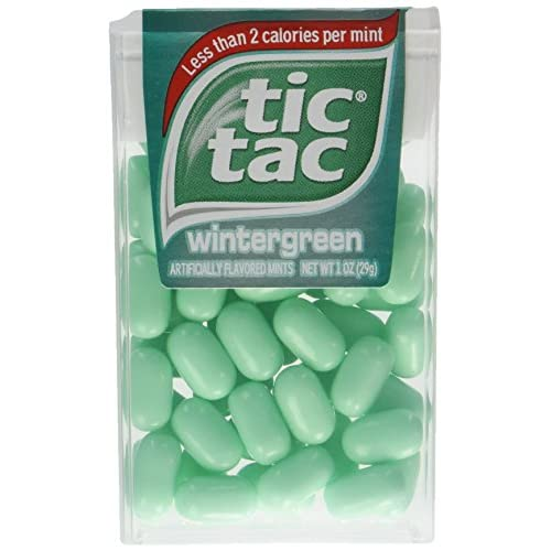 8a07f3a7790c chic Tic Tac Wintergreen, 1-Ounce, (Pack of 24) - avico.fi