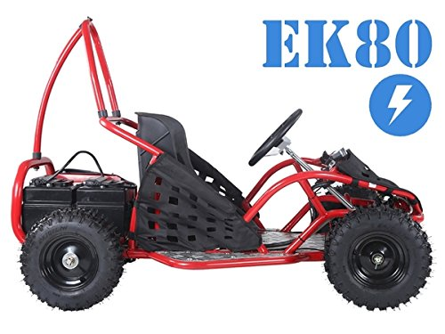Tao Tao EK80 Kids Electric Go-carts (Red) ()