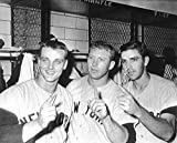 Mickey Mantle Clete Boyer & Roger Maris reprint 8x10 Photo New York Yankees - Mint Condition