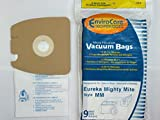 mites cleaner - 9 micro filtration Vacuum Bags for Eureka MM Mighty Mite 3670 and 3680 Canister