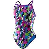 Speedo Women's Printed Propel Back One piece Swimsuit