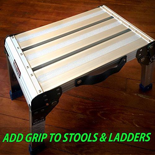 Para uso en interiores y exteriores. 16 tiras de agarre 1