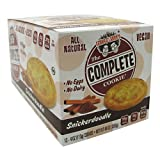 Lenny & Larry's All-Natural Complete Cookie - Snickerdoodle - 12 Per Box - 4 oz Cookies