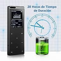 VICTSING Relojes GPS Deportivo Física con Ritmo Cardíaco Unisex, WeLoop Relojes Inteligentes Impermeable para Natación con Funciones como Pulsera de ...