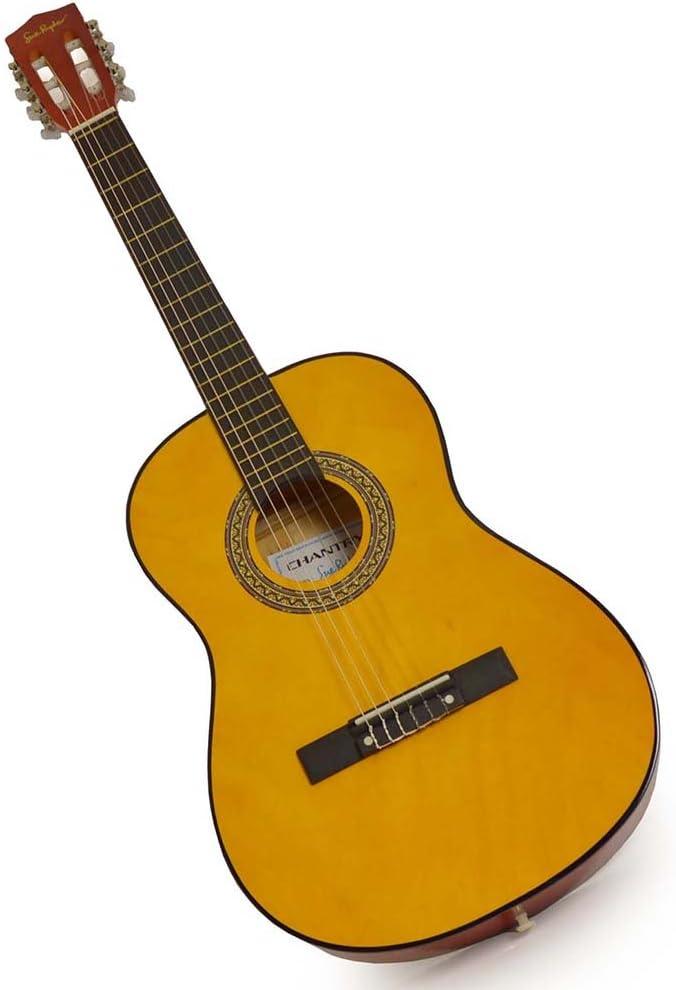 Sue Ryder - Guitarra clásica (tamaño 3/4, 91 cm), color natural ...