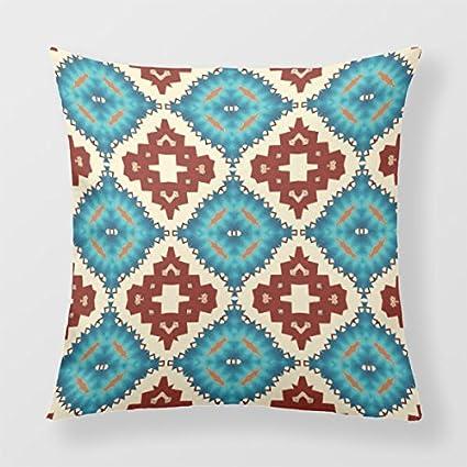 Lightinglife Pattern Pillow Cover Fractal Sofa Throw Pillow Decorative Abstract Throw Pillow Cover 16 xdq