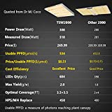 MARS HYDRO TSW 2000 Led Grow Light 300 Watt 4x4ft