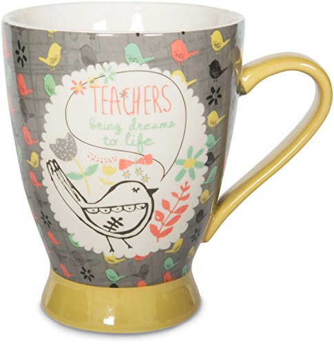 Special Teacher Mug - Pavilion Gift Company 74039 Teacher Ceramic Mug, 16 oz, Multicolored