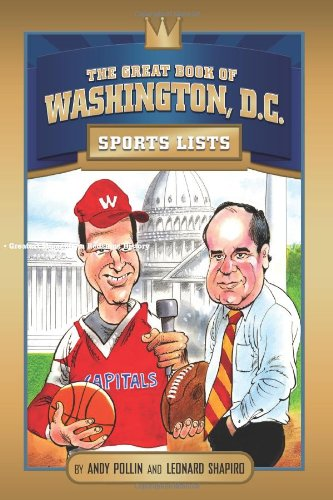 Read Online The Great Book of Washington DC Sports Lists (Great City Sports List) pdf epub