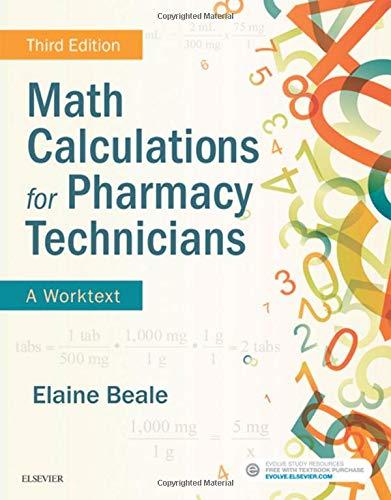 R.E.A.D Math Calculations for Pharmacy Technicians: A Worktext<br />D.O.C