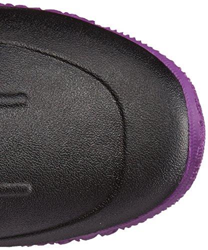 Muckboots Womens Tack Ii Grande Chaussure De Travail Équestre Noir / Violet