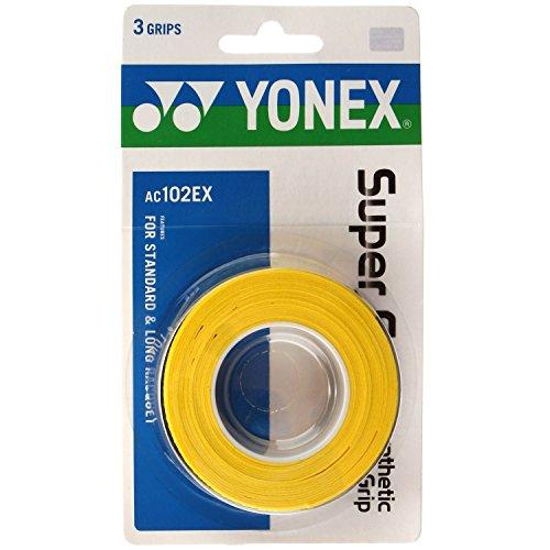 Pack Yonex Super Overgrip Yellow