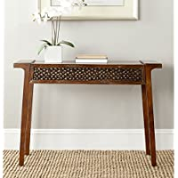 Safavieh American Homes Collection Raymond Dark Brown Console Table