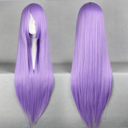 Smile Cosplay Anime wig 80cm Long Saint Seiya -Athena Saori Kido Light (Athena Wig)