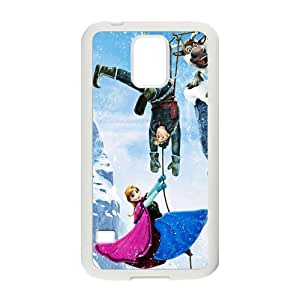 ZXCV Frozen Princess Anna Kristoff Olaf Sven Cell Phone Case for Samsung Galaxy S5
