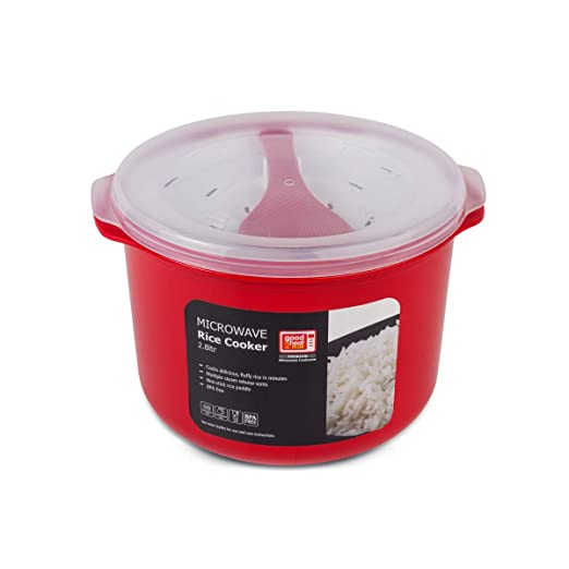 Good 2 Heat Plus 4308 - Olla de arroz para microondas (2,8 l ...