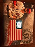 #6: 2018 Topps MLB Independence Day U.S. Flag Manufactured Patches #IDML-BH Bryce Harper Washington Nationals USA Retail Bla