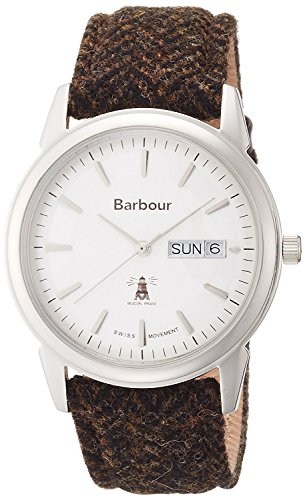 Barbour watch Day-Date Cotton / Leather Strap BB036SLHB Men's [regular imported goods]