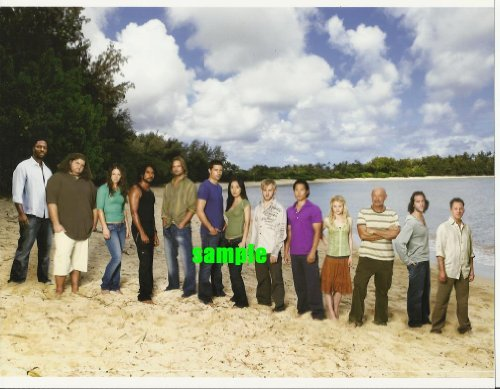 Lost the television series Cast Picture #6 with 13 cast members 8 x 10 inches Photo LostTV2016