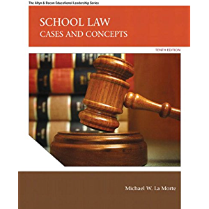 School Law: Cases and Concepts (2-downloads) (Allyn & Bacon Educational Leadership)
