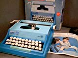 "1978 Buddy L. Corporation Irwin Toy Limited Buddy L. ""Easy-Writer"" Typewriter Model# 200 No. 2535 (I) (Blue Color Version)(NEEDS & REQUIRES SPECIAL BUDDY L. TYPEWRITER RIBBON)"