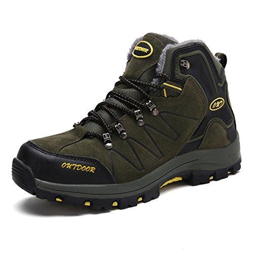 Outdoor De Sneakers 6 Chaussures Hautes Trekking Sport Homme vert Bottes Randonnée Pour wYndqx8dvH