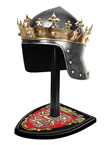 King Richard The Lionheart Helmet and Stand