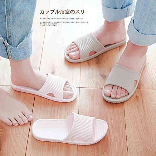 Happy Lily Women/Men's Slip On Slippers Non-Slip Shower Sandals House Mule Soft Foams Sole Pool Shoes Bathroom Slide Water Shoes