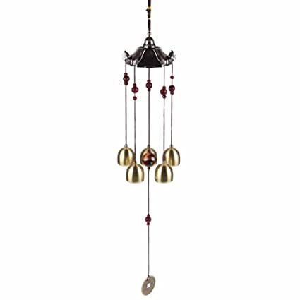 Amazon.com: chuangli tradicional Wind Chime Tubo de metal ...