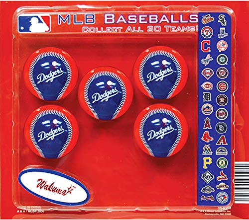 Dodgers Birthday Party Supplies & Decorations. LA Cake & Cupcake Toppers. Los Angeles Baseball Favor Supply & (Los Angeles Dodgers 30 Ball)
