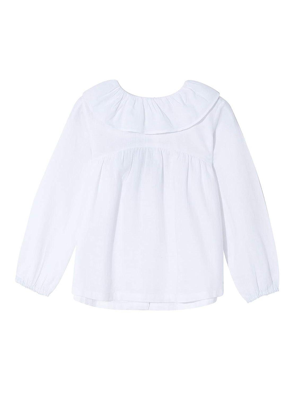 Gocco Blusa Cuello Volante Camicia Bambina