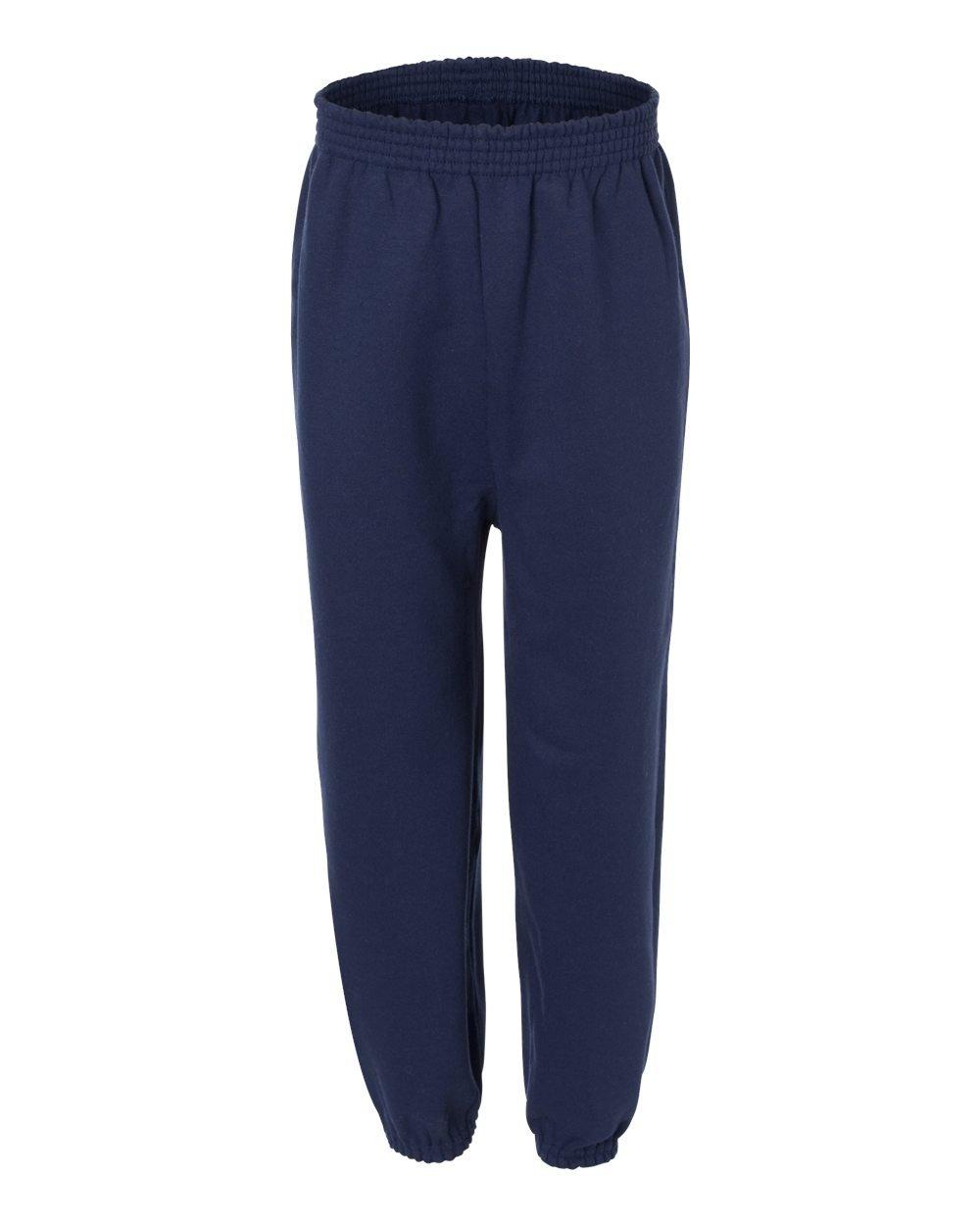 Hanes Youth ComfortBlend EcoSmart Sweatpants Deep Royal P450