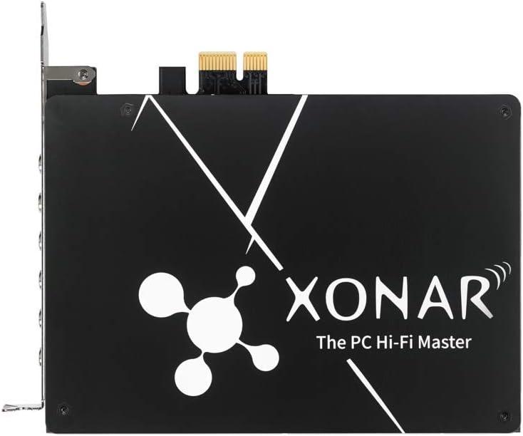 Asus Xonar Internal Channel PCIe Sound Card Bit 110 103 24-bit 192 kHz