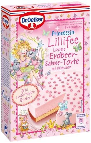 Dr Oetker Prinz Lillifee Erdbeer Sahne Torte 8er Pack 8 X 297 G