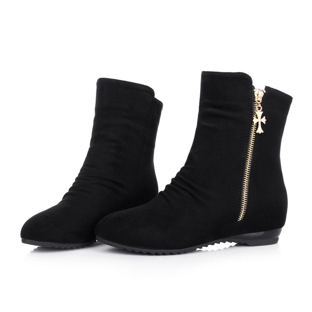 AdeeSu - AdeeSu B0752KDBNF Zapatos cerrados - Para mujer Negro ... 3b16f67f2e793