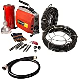 SDT K60 Sectional Drain Pipe Cleaning Machines with C1 5/16  C8 5/8  C10 7/8  Cable fits RIDGID