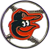 Baltimore Orioles Cut Out Logo Pin