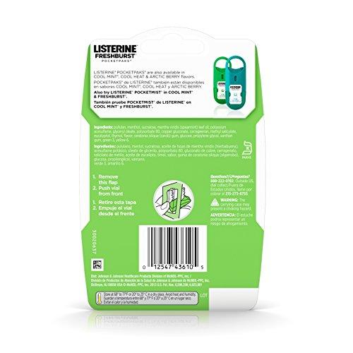 Listerine Freshburst Pocketpaks Breath Strips For Fresh